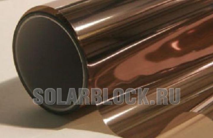 Солнцезащитная пленка Бронза 35 (ширина 152 см)