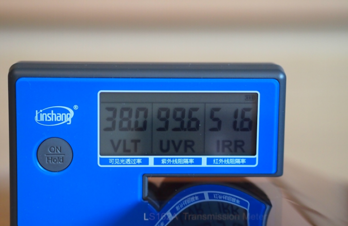 Солнцезащитная углеродная пленка 35% (ширина 152 см)