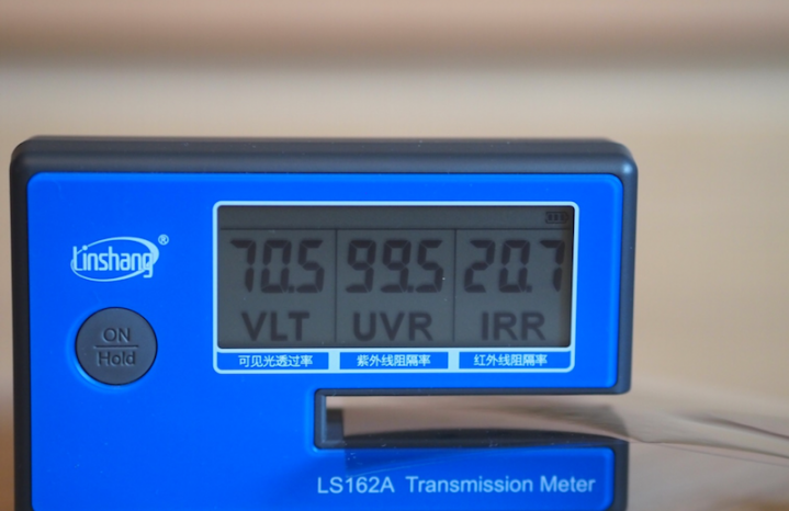 Солнцезащитная углеродная пленка 70% (ширина 152 см)