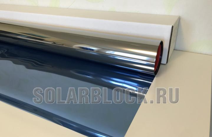 Зеркальная пленка Синяя 15 (ширина 152 см)