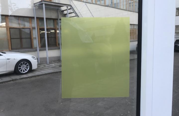 Yellow Matte желтая матовая пленка