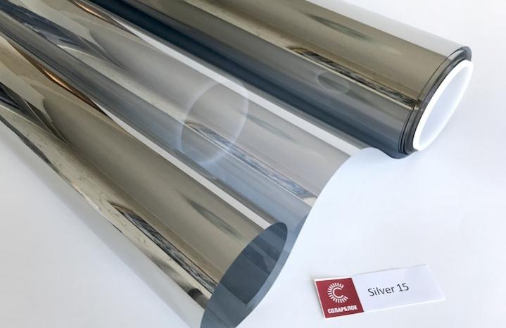 Зеркальная пленка 15 - два отреза 70х152 см